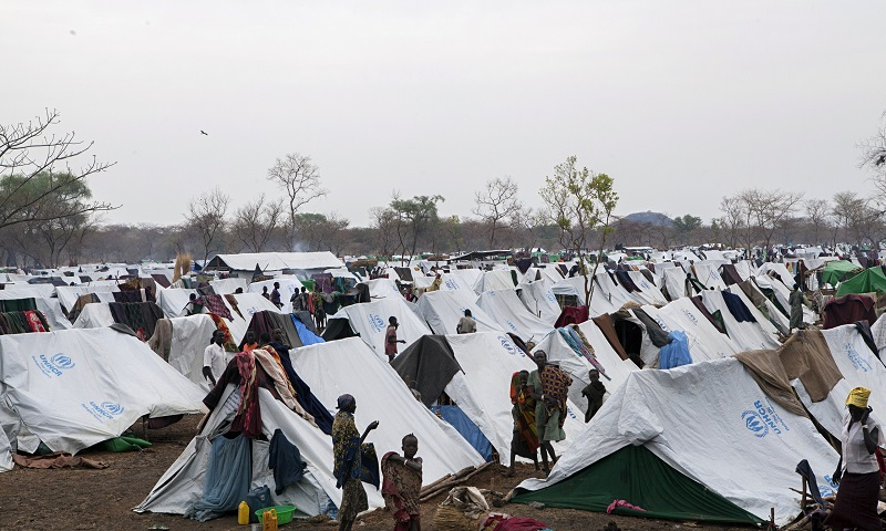 refugee camp in Ethiopia's Gambela region