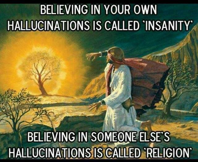 insanity and religion